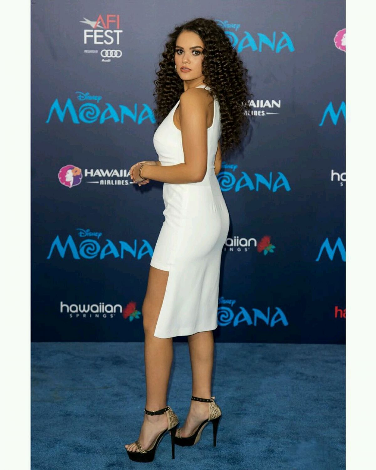MADISON PETTIS at 'Moana' Premiere in Los Angeles 11/14/2016