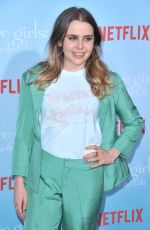 MAE WHITMAN at 'Gilmore Girls: A Year in the Life' Premiere in Los Angeles 11/18/2016
