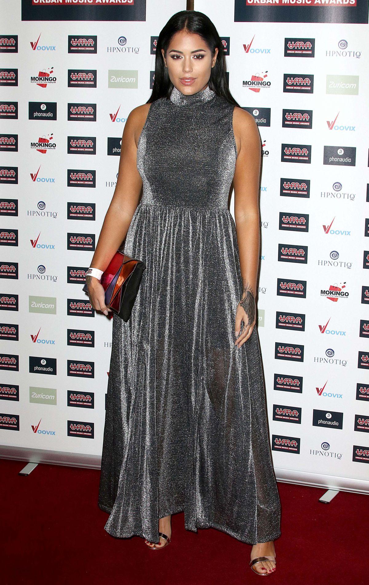 MALIN ANDERSSON at Urban Music Awards 2016 in London 11/26/2016