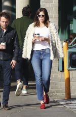 MANDY MOORE Out for Coffee in Los Angeles 11/23/2016