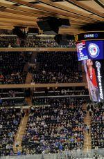MARGOT ROBBIE at New York Rangers Game in New York 11/27/2016