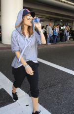MARIA MENOUNOS at LAX Airport in Los Angeles 11/13/2016