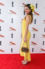MARIA MENOUNOS at Mumm Marquee on Melbourne Cup Day in Melbourne 10/31/2016