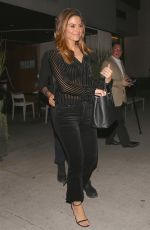 MARIA MENOUNOS Night Out in Brentwood 11/11/2016