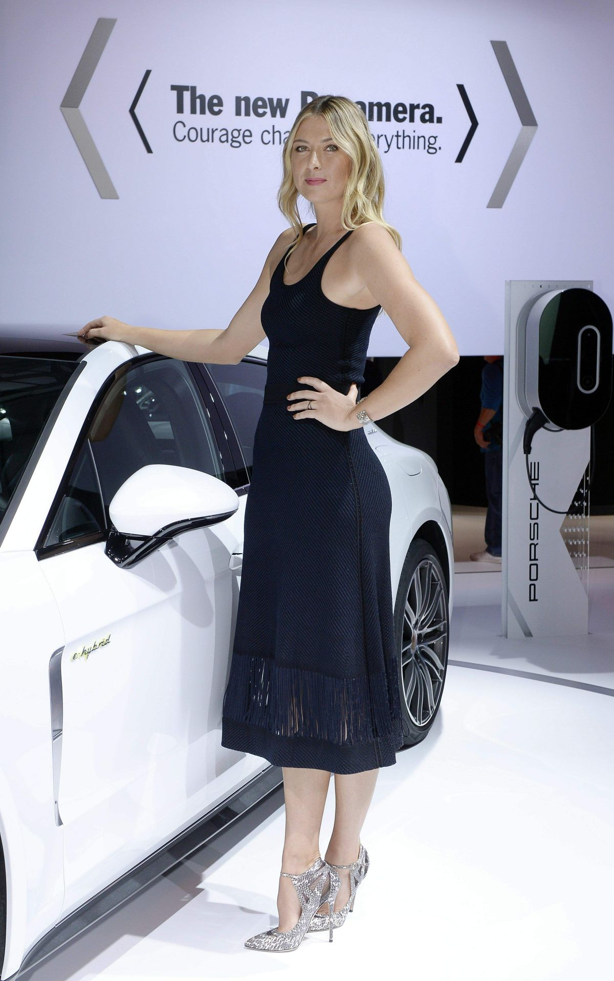 MARIA SHARAPOVA at Porsche Press Conference at Los Angeles Autoshow 11/16/2016