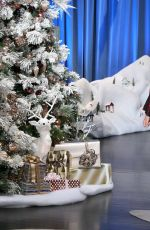 MARIAH CAREY at Ellen DeGeneres Show 11/26/2016