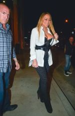 MARIAH CAREY Out in Los Angeles 11/05/2016