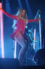 MARIAH CAREY Performs at The Sweet Sweet Fantasy Tour in Mexico City 11/08/2016