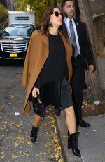 MARION COTILLARD at Il Gattopardo Restaurant in New York 11/16/2016