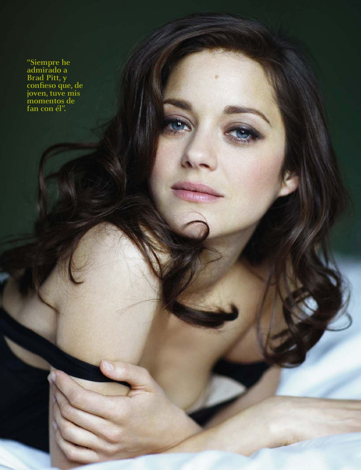 MARION COTILLARD in Fotogramas Magazine, Spain December 2016 Issue