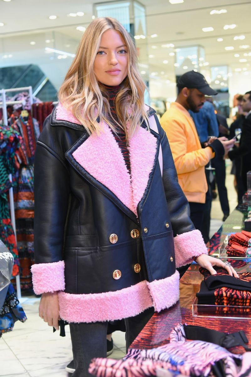 MARTHA HUNT at Kenzo x H&M VIP Pre-Shop Event in New York ...
