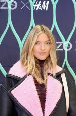 MARTHA HUNT at Kenzo x H&M VIP Pre-Shop Event in New York 11/02/2016