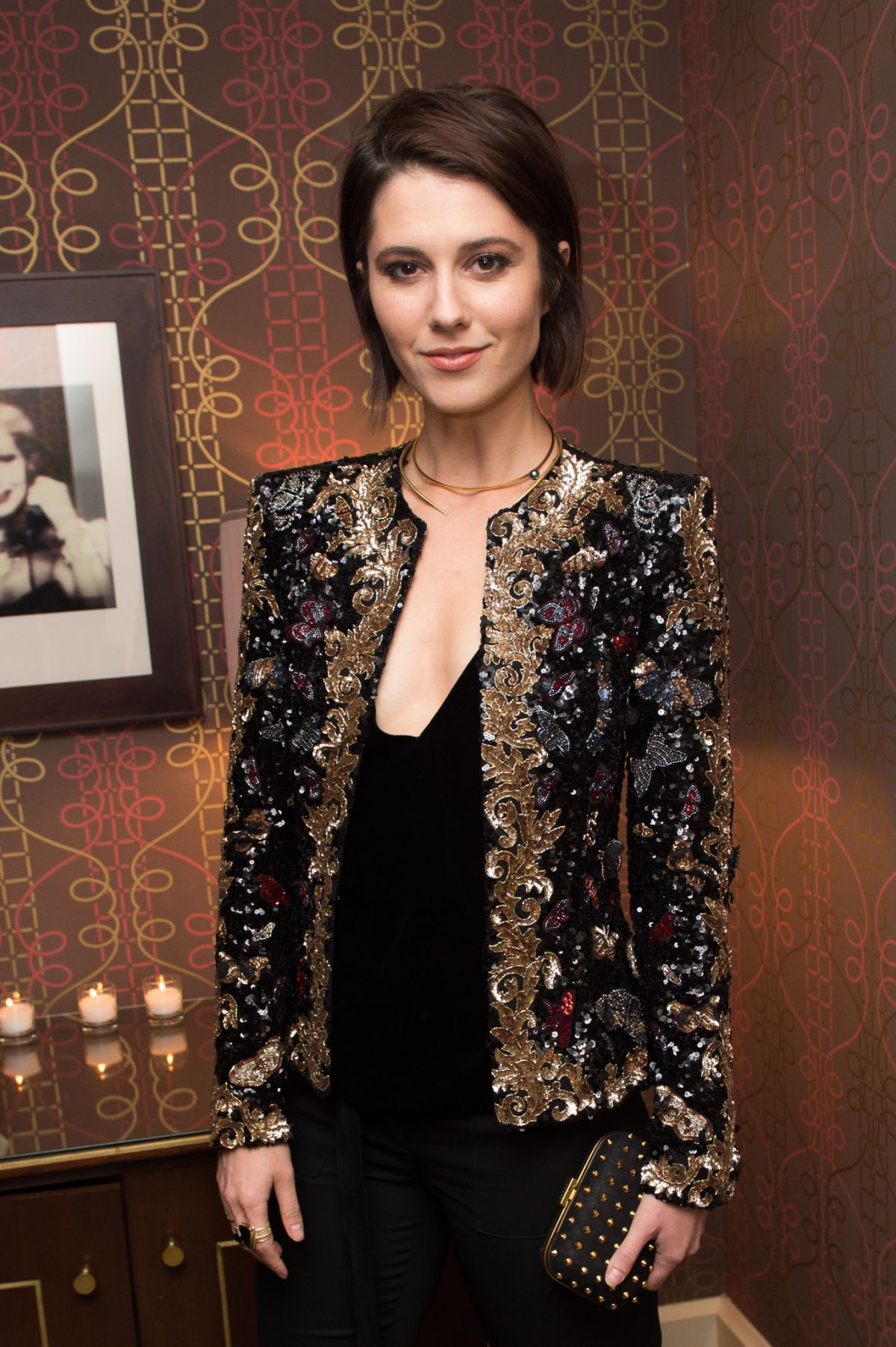 MARY ELIZABETH WINSTEAD at Zuhair Murad Cocktail Party in Los Angeles 11/16/2016