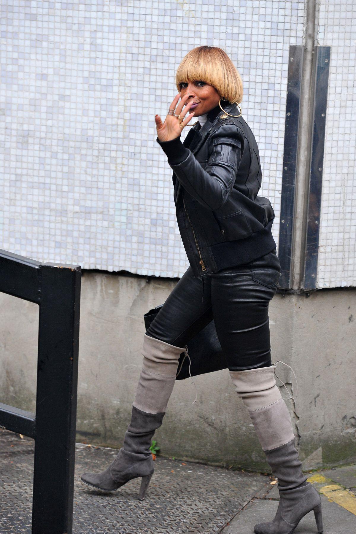 MARY J BLIGE Arrives at ITV Studios in London 11/01/2016