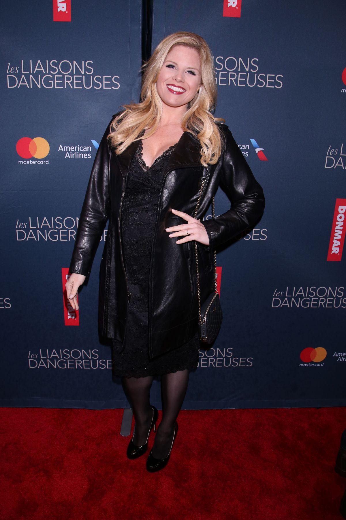 MEGAN HILTY at Les Liasons Dangereuses Opening Night in New York 10/30/2016
