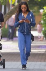 MELANIE BROWN Out and About in Sydney 11/10/2016