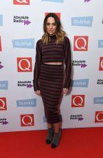 MELANIE CHISHOLM at Q Awards 2016 in London 11/02/2016
