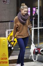 MELLISA BENOIST at Airport in Vancouver 11/27/2016