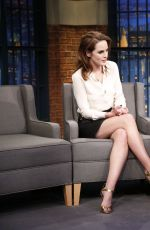 MICHELLE DOCKERY at The Late Show with Seth Meyers in New York 11/14/2016
