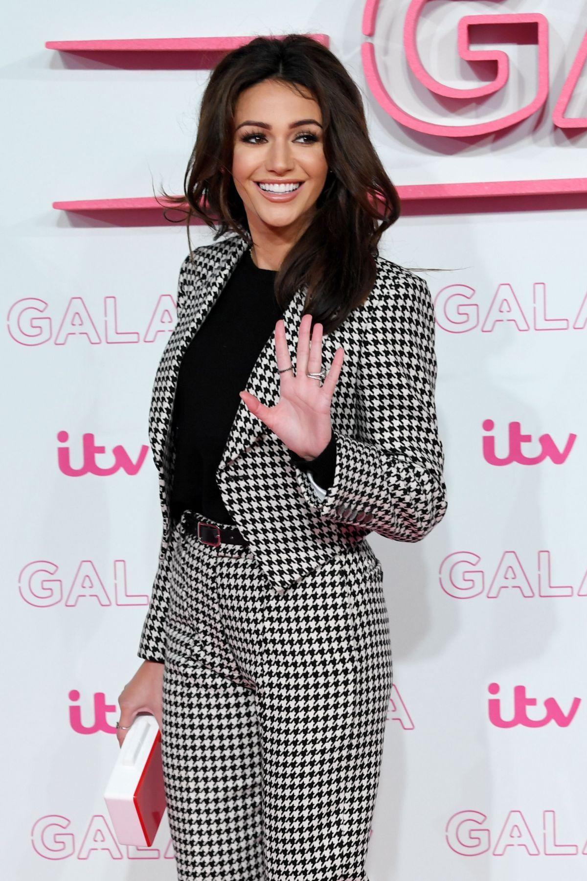MICHELLE KEEGAN at ITV Gala in London 11/24/2016