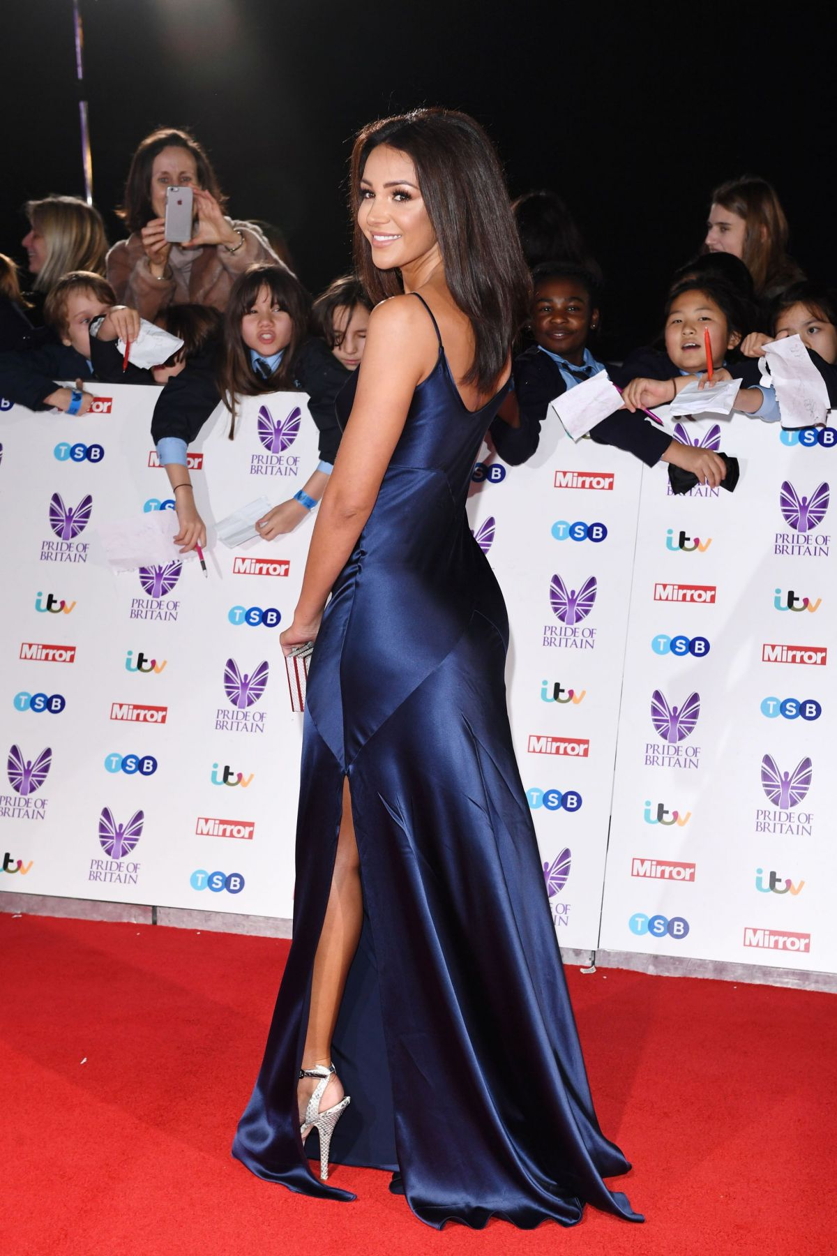 MICHELLE KEEGAN at Pride of Britain Awards 2016 in London 10/31/2016