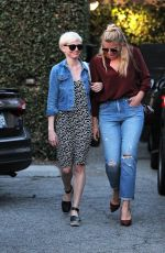 MICHELLE WILLIAMS and BUSY PHILIPPS Out in Beverly Hills 11/15/2016