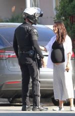 MILA KUNIS Out in Beverly Hills 11/07/2016