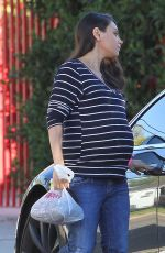 MILA KUNIS Out in Studio City 11/18/2016