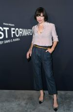 MILLA JOVOVICH at 'Past Forward' Premiere in Los Angeles 11/15/2016