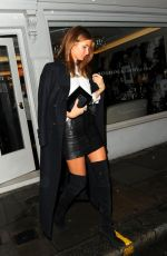 MILLIE MACKINTOSH Leaves Five Years of Gazelli Party in London 11/10/2016