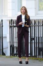 MILLIE MACKINTOSH on the Set of a Photoshoot in Chelsea 11/28/2016