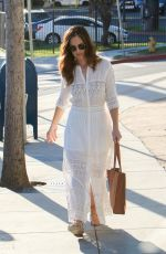 MINKA KELLY Out and About in West Hollywood 11/13/2016