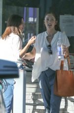 MINKA KELLY Out Shopping in Los Angeles 11/08/2016