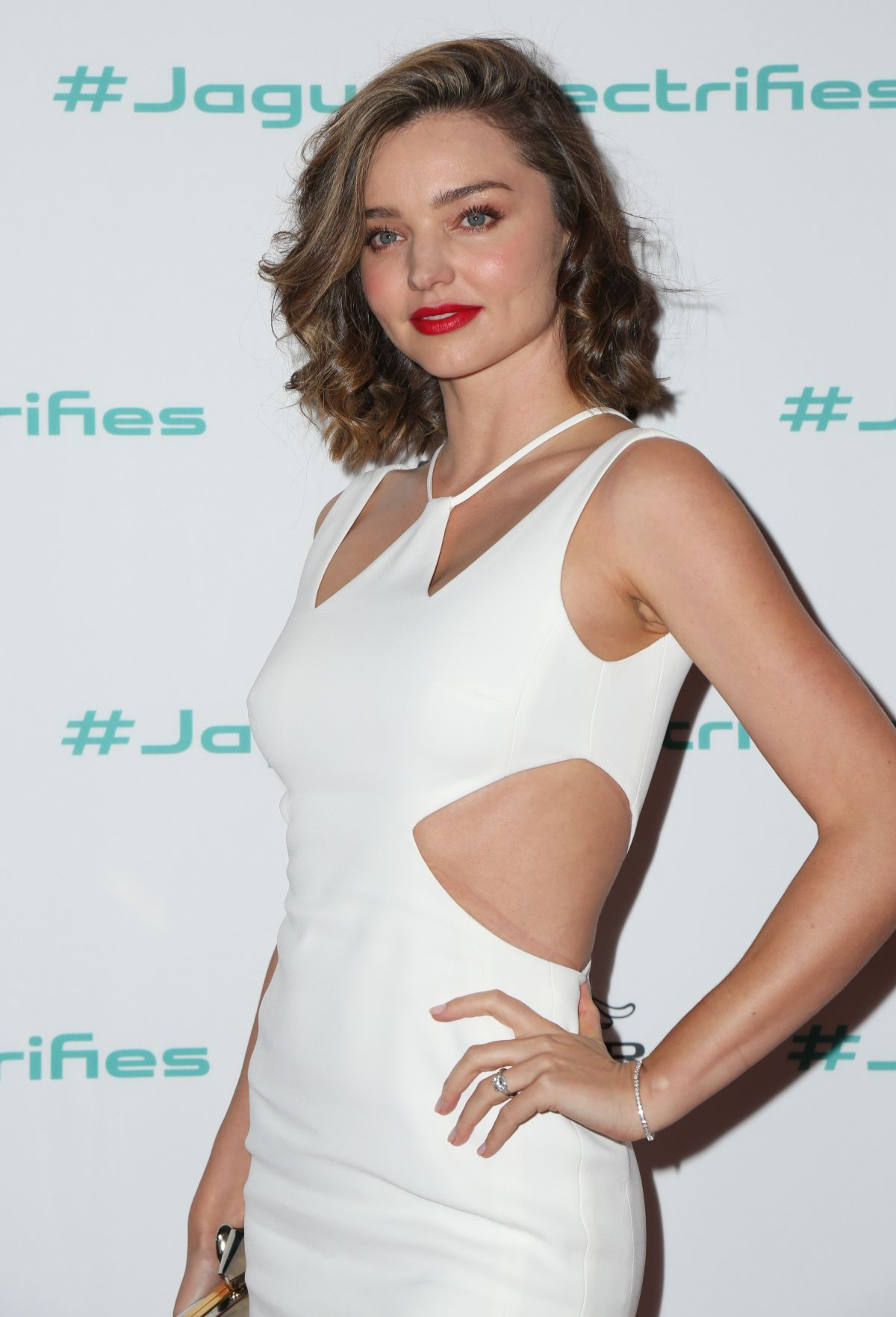 MIRANDA KERR at Jaguar for Next Era Vehicle Unveiling Event 11/14/2016