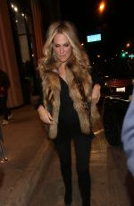MOLLY SIMS at Catch LA in West Hollywood 11/18/2016
