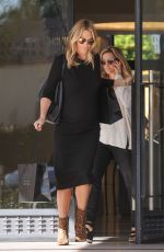 MOLLY SIMS Leaves Barneys in Los Angeles 11/03/2016