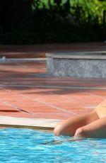 MYLEENE KLASS in Bikini at a Pool in Dubai 11/22/2016