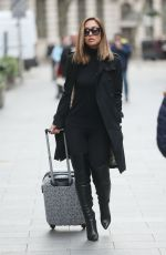 MYLEENE KLASS Out and About in London 11/23/2016