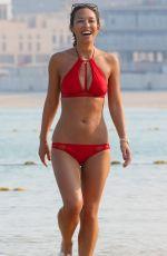 MYLEENE KLASS in Bikini on the Beaches in Dubai 10/27/2016