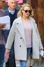 NAOMI WATTS on the Set of