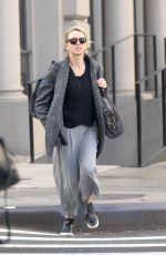NAOMI WATTS Out and About in New York 11/17/2016