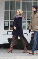 NAOMI WATTS Out and About in New York 11/21/2016