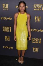 NAOMIE HARRIS at HFPA & Instyle's Celebration of Golden Globe Awards Season in Los Angeles 11/10/2016