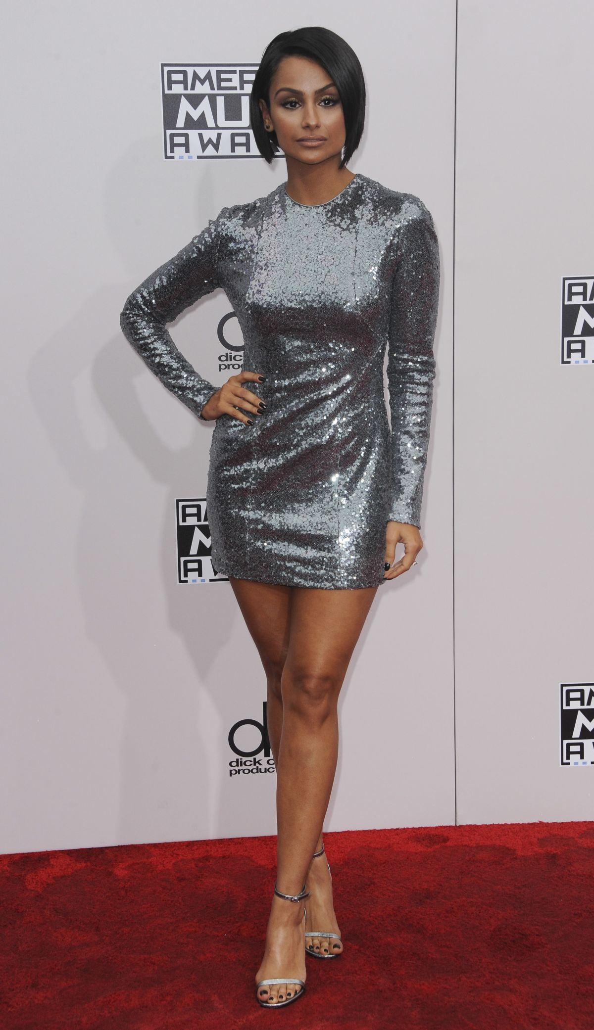 NAZANIN MANDI at 2016 American Music Awards at The Microsoft Theater in Los Angeles 11/20/2016