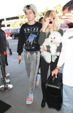 NICOLA PELTZ at LAX AIrport in Los Angeles 11/04/2016
