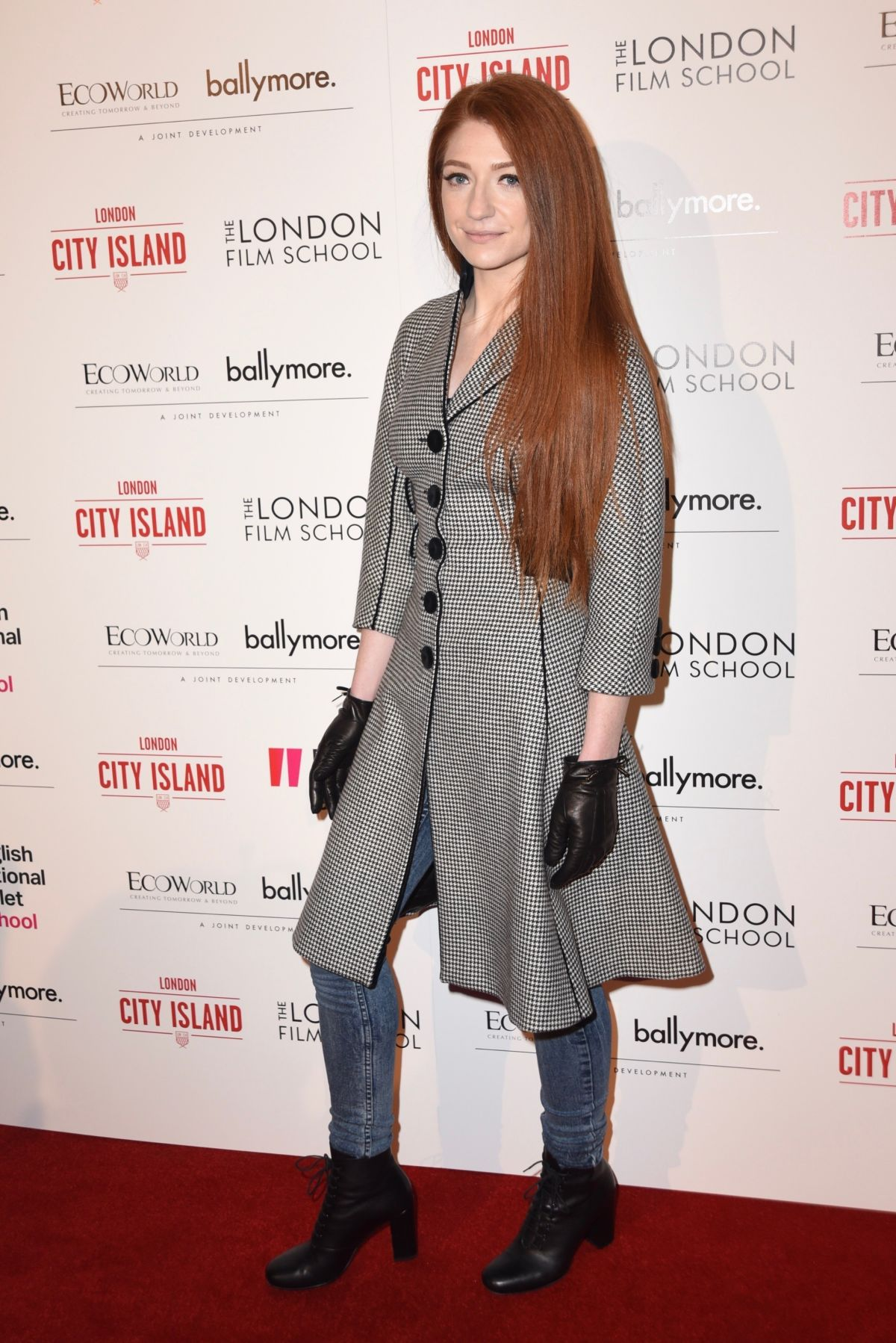 NICOLA ROBERTS at London City Island Opening Event for National Ballet in London 11/08/2016