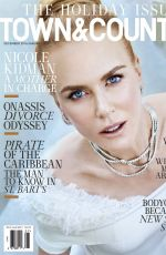 NICOLE KIDMAN in Town & Country, December 2016/January 2017 Issue