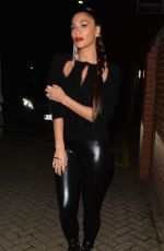 NICOLE SCHERZINGER Night Out in London 10/30/2016