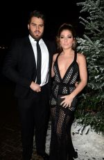 NIKKI SANDERSON at Gem Appeal Winter Ball in Manchester 11/19/2016