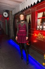 NINA AGDAL at Tradicional Dia De Los Muertos Party in New York 11/01/2016